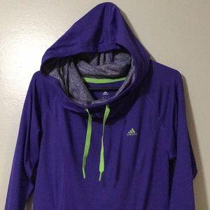 Adidas Hooded Sweatshirt size Small